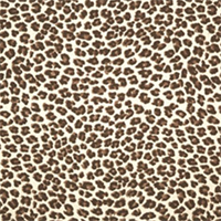 Leopard Chocolate/Natural by Premier Prints