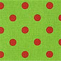 Polka Dot Charteuse/Lipstick by Premier Prints