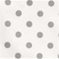 Polka Dot White/Storm Twill by Premier Prints