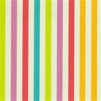 Line Up Sorbet Striped Cotton Fabric by Waverly