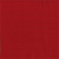 OD Sunsetter Chili Pepper Red Solid Slubby Outdoor Fabric