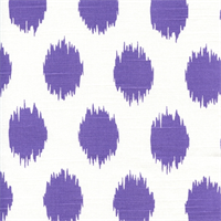 Jo Jo Thistle Ikat Slub by Premier Prints - Drapery Fabric
