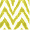 Diva-Artist Green Chevron Stripe Ikat Slub by Premier Prints - Drapery Fabric