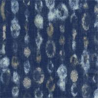 Amba Indigo/Dossett by Premier Prints - Drapery Fabric