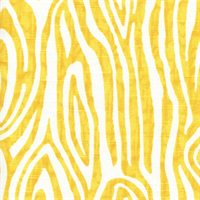Willow Corn Yellow/White Woodgrain Look Slub Print by Premier Prints Designer