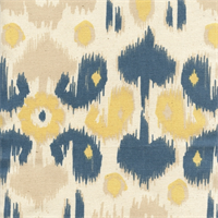 Rio Denim/Natural by Premier Prints - Drapery Fabric