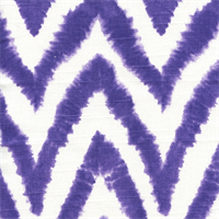 Diva-Thistle Chevron Stripe Ikat Slub by Premier Prints - Drapery Fabric