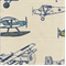 Vintage Air Felix/Natural by Premier Prints - Drapery Fabric
