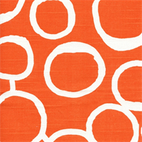 Freehand Tangelo Contemporary Slub Fabric by Premier Prints