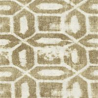 Daylesford Brompton Clay Geo Design DraperyFabric by Swavelle Mill Creek