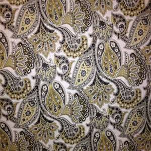 Kimberly Cliffside Rockey Coast Paisley Linen Look Drapery Fabric by Swavelle Mill Creek