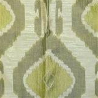 Matmi Lime Contemporary Woven Ikat Drapery Fabric by Swavelle Mill Creek
