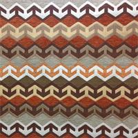 Valdez Sunkissed Woven Southwestern Design Upholstery Fabric by Richloom Platinum Fabrics