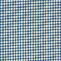 Gingham Nautical Printed Drapery Fabric