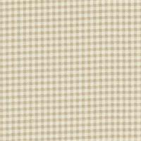 Gingham Linen Printed Drapery Fabric
