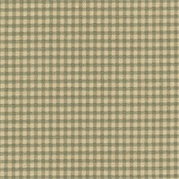 Gingham Document Printed Drapery Fabric