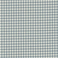 Gingham Dove Printed Drapery Fabric