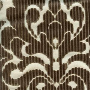 Tate Haze Cut Chenille Floral Design Upholstery Fabric