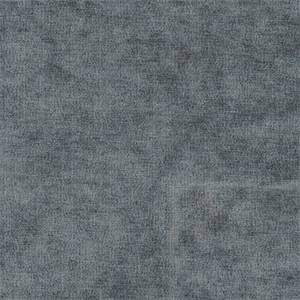 Royal 34 Steel Blue Chenille Solid Upholstery Fabric