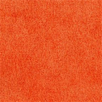 Royal 45 Tangerine Chenille Solid Upholstery Fabric