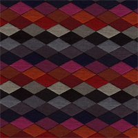 Prism Onyx Contemporary Diamond Upholstery Fabric