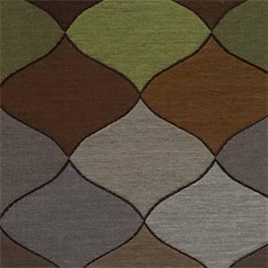 Kaleidoscope Woodland Ornament Design Upholstery Fabric