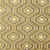 SoHo Mica Cut Chenille Octagon Design Upholstery Fabric
