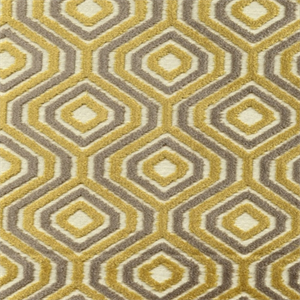 SoHo Mica Cut Chenille Octagon Design Upholstery Fabric