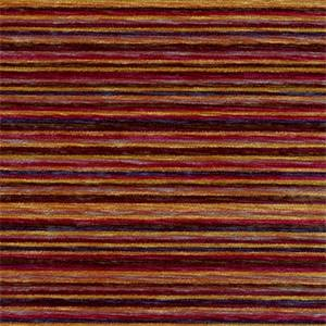 Cancun Multi Woven Chenille Stripe Upholstery Fabric