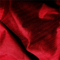 Dupioni Silk 9016 Red Drapery Fabric