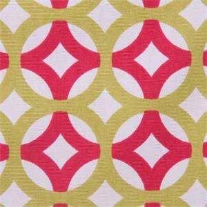 Lyndon Candy Geo Design Cotton Drapery Fabric by Richloom