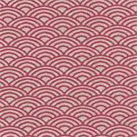 Dunhill Pink Contemporary Multiple Reverse Scale Design Upholstery Fabric