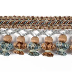IR6811 BRM Brown Multi Tassel Trim - 20 yard reel