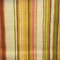 Thetford Sussex Apricot Striped Drapery Fabric by Swavelle Mill Creek
