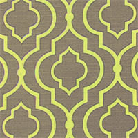Donetta Sussex Chalice Contemporary Geo Cotton Drapery Fabric by Swavelle Mill Creek