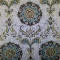 Barossa Nordic Ice Floral Drapery Fabric by Swavelle Mill Creek