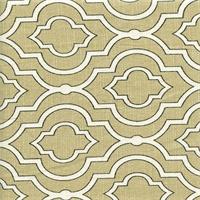 Donetta Sussex Aspen Cotton Geo Design Drapery Fabric by Swavelle Mill Creek
