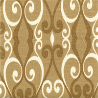 Chichester Camel Cotton Loop Design Drapery Fabric by Swavelle Mill Creek