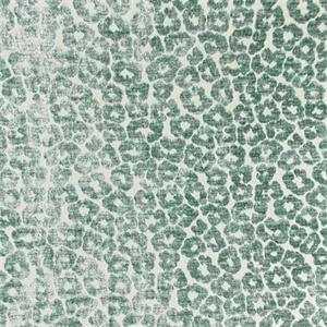 Kiribati Aqua Chenille Animal Design Upholstery Fabric By Swavelle
