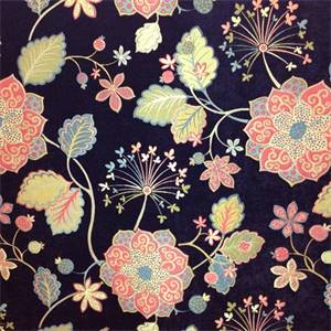 Jessinal Carnival Floral Chenille Upholstery Fabric By Swavelle