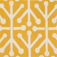 Aruba Citrus/Yellow Outdoor by Premier Prints - Drapery Fabric