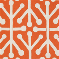Aruba Orange Outdoor by Premier Prints - Drapery Fabric