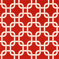 Gotcha American Red Outdoor by Premier Prints - Drapery Fabric