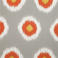 Ikat Domino Citrus Outdoor by Premier Prints - Drapery Fabric