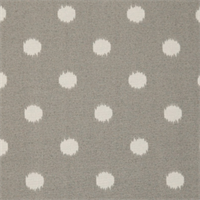 Ikat Dots Grey Outdoor by Premier Prints - Drapery Fabric