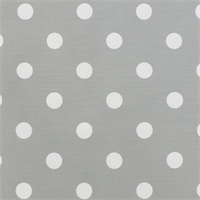 Polka Dot Twill Storm and White by Premier Prints