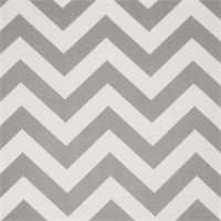 Zig Zag Grey Indoor/Outdoor Fabric by Premier Prints