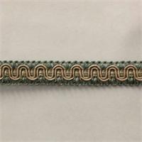 H59/39-3 Seafoam Gimp Fringe