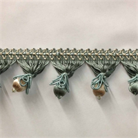 TF55/39-3 Seafoam Unique Beaded Tassel Fringe