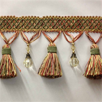 BF4027-82/17 Beaded Tassel Fringe